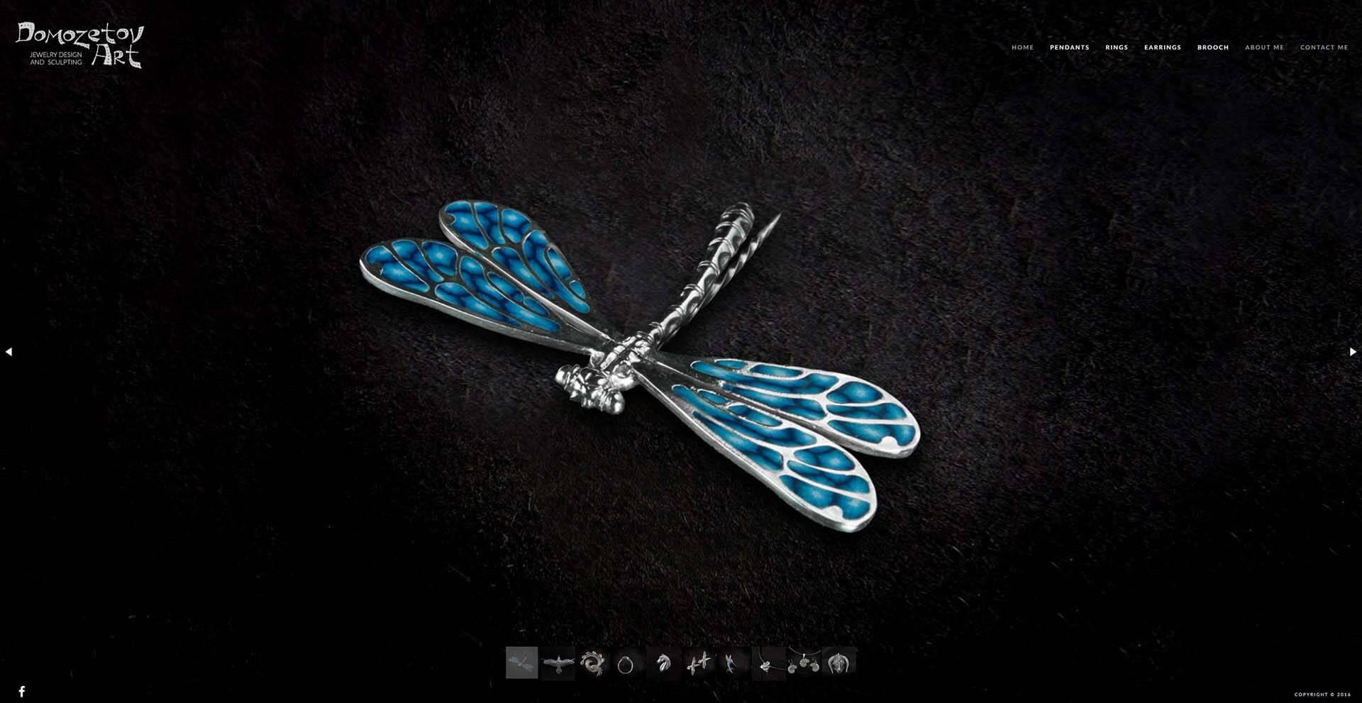 Domozetov Art Dragonfly